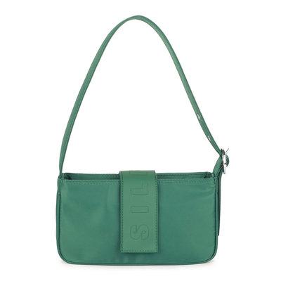 Daniel Silfen Handbag Yasmin Nylon Dark Green