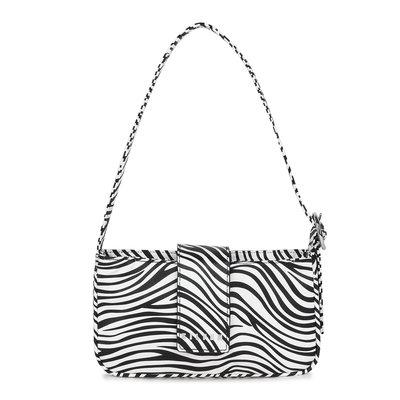 Daniel Silfen Handbag Yasmin Zebra
