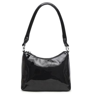 Daniel Silfen Handbag Ulle Patent Black