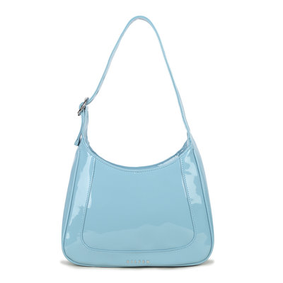 Daniel Silfen Shoulder Bag Siri Patent Neptune