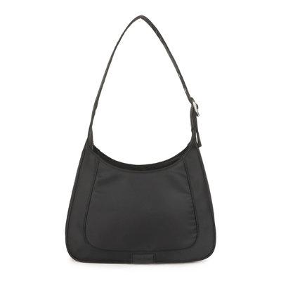 Daniel Silfen Shoulder Bag Siri Nylon Black