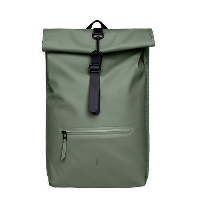 Rains Roll Top Backpack Olive