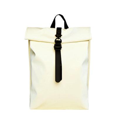 Rains Roll Top Mini Backpack Pearl