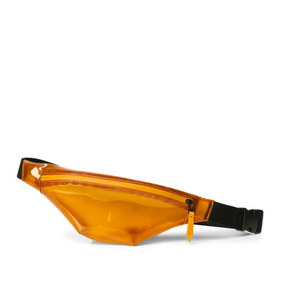 Rains Bum Bag Mini Shiny Amber