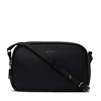 Matt and Nat Purity Pair Crossbody Bag Black