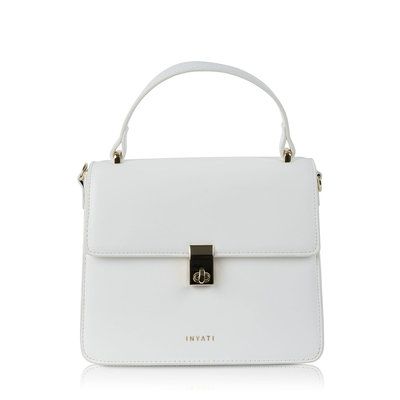 Inyati Elody Top Handle Bag White