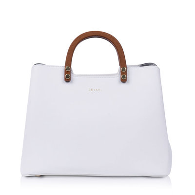 Inyati Inita Top Handle Bag White