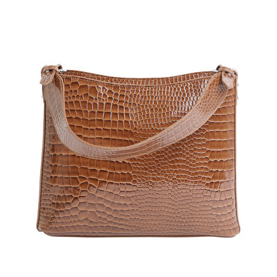 Hvisk Amble Croco Tawny Brown