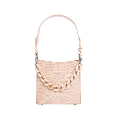 Hvisk Amble Croco Small Sand Beige