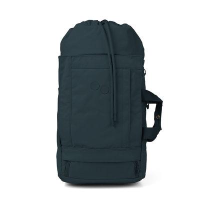 Pinqponq Blok Medium Backpack Slate Blue