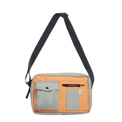 Mads Norgaard Bel Collage Cappa Mili Bag Light Army/Orange