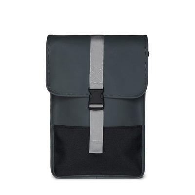 Rains Buckle Backpack Mini Slate