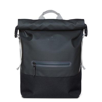 Rains Buckle Roll Top Backpack Slate