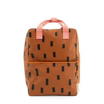 Sticky Lemon Large Backpack Sprinkles Syrup Brown + Bubble Pink