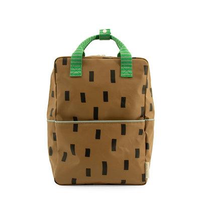 Sticky Lemon Large Backpack Sprinkles Brassy Green + Apple Green