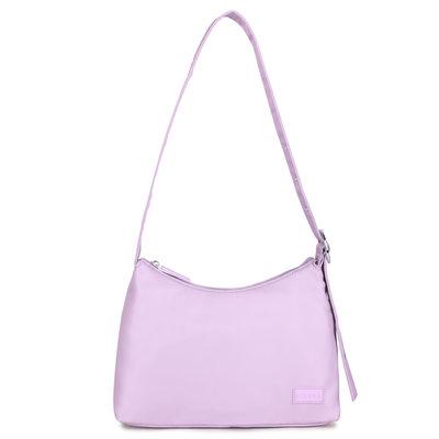 Daniel Silfen Shoulder Bag Ulrikke Nylon Pastel Lilac