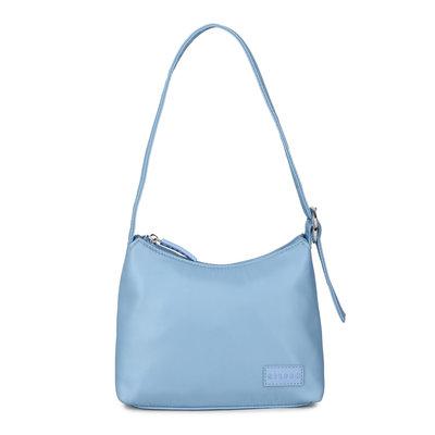 Daniel Silfen Handbag Ulla Nylon Diner Blue