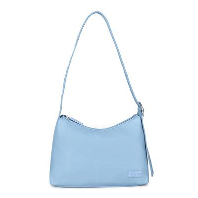 Daniel Silfen Shoulder Bag Ulrikke Nylon Diner Blue