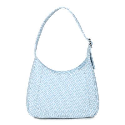 Daniel Silfen Shoulder Bag Siri Icon Blue