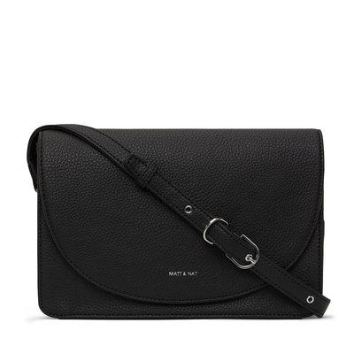 Matt and Nat Sofi Purity Crossbody Bag Black