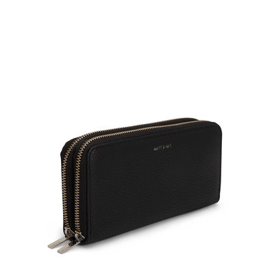 Matt and Nat Sublime Purity Wallet Black