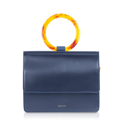 INYATI Coco Top Handle Bag midnight blue