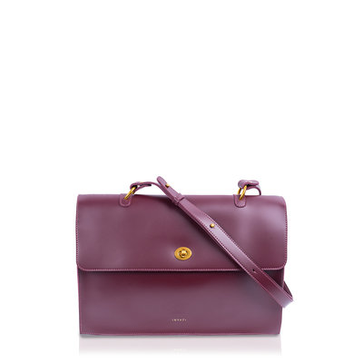 INYATI Nele Shopper/Crossbodybag Burgundy