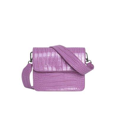 Hvisk Cayman Shiny Strap Bag Pastel Purple