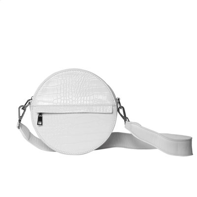 Hvisk Cayman Circle Bag White