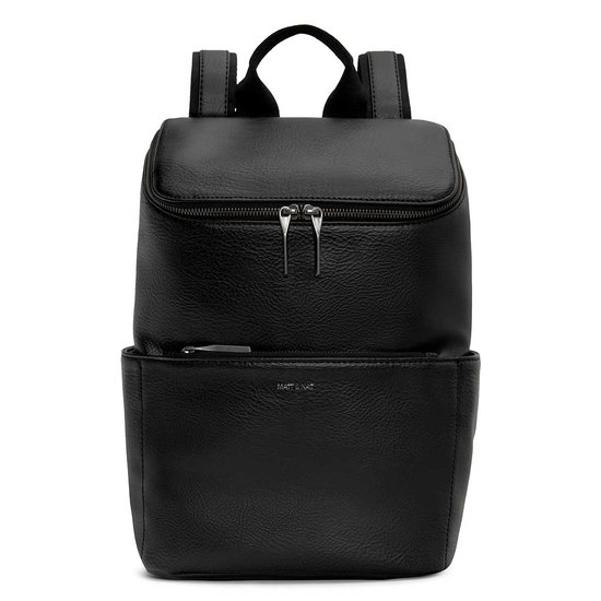 MATT AND NAT BRAVE DWELL BACKPACK BLACK