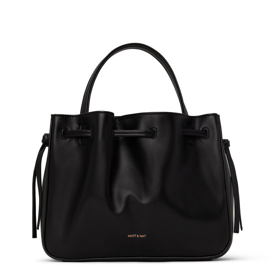 MATT & NAT MENA SATCHEL BLACK