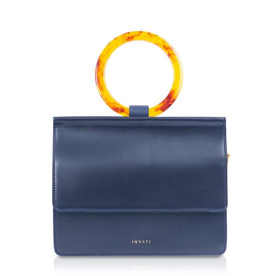Coco Top Handle Bag Midnight Blue