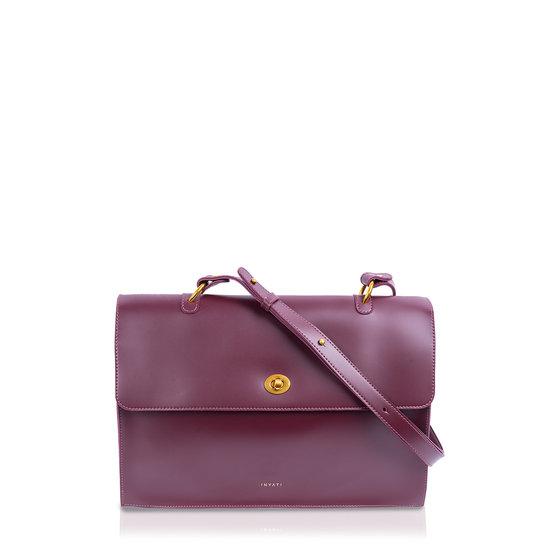 Nele Shopper/Crossbodybag Burgundy