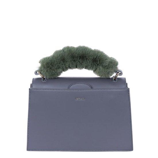 Olivia Top Handle Bag Dark Grey
