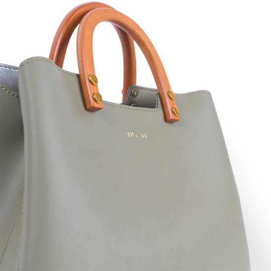Inati Top Handle Bag Olive Grove