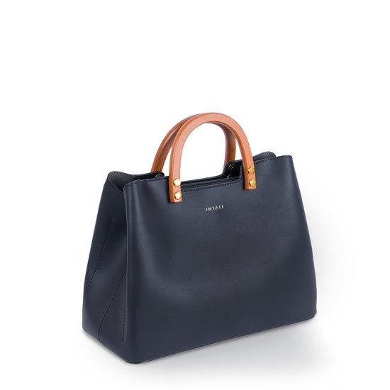 Inati Top Handle Bag Black