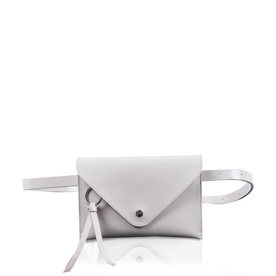 Ida Beltbag Glossy Off White