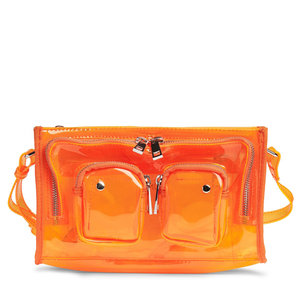 Núnoo Stine Transparent orange voorkant