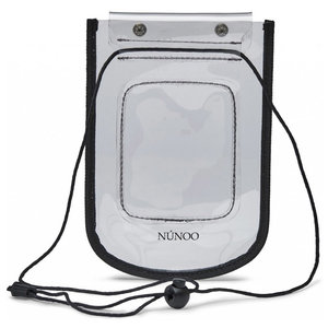 Núnoo Beach Wallet Transparent colorless voorkant