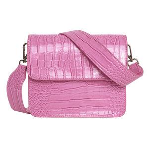 Hvisk Cayman Shiny Strap Bag Pastel Purple voorkant