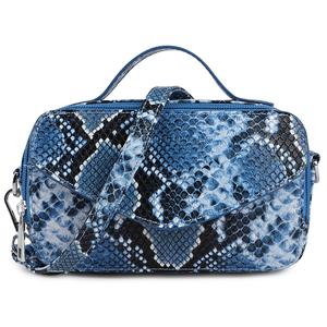 Daniel Silfen Handbag Katy electric blue voorkant