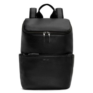 Matt & Nat Brave Backpack Black voorkant