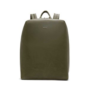 Matt & Nat Bremen Backpack Olive voorkant