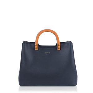 Inati Top Handle Bag Black Voorkant