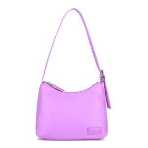 Daniel Silfen Handbag Ulla Nylon Light Purple