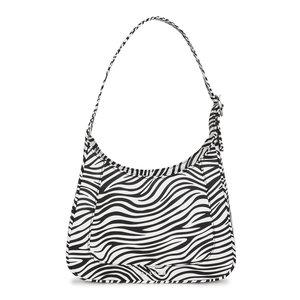 Daniel Silfen Shoulder Bag Siri Zebra