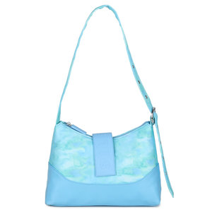 Daniel Silfen Shoulder Bag Ursula Nylon Waterfall