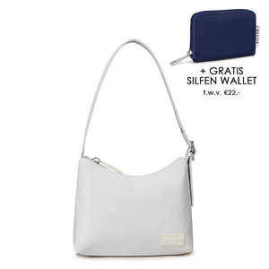 Daniel Silfen Handbag Ulla White