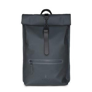 Rains Roll Top Backpack Slate