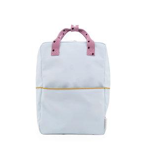 Sticky Lemon Large Backpack Freckles Sky Blue + Pirate Purple + Caramel Fudge
